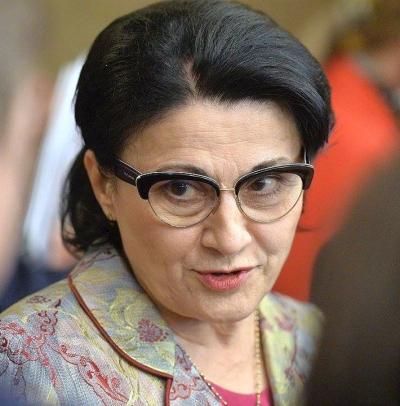 Ecaterina Andronescu va fi propusă la Ministerul Educației de PSD