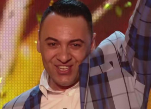 O vedetă de la Britain's Got Talent, pe scena mioritică