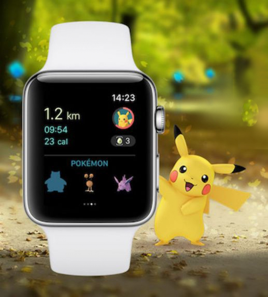 Pokemon Go pentru Apple Watch