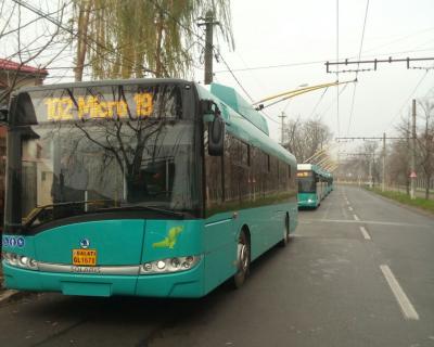 Noile troleibuze au intrat pe traseele de transport public | GALERIE FOTO