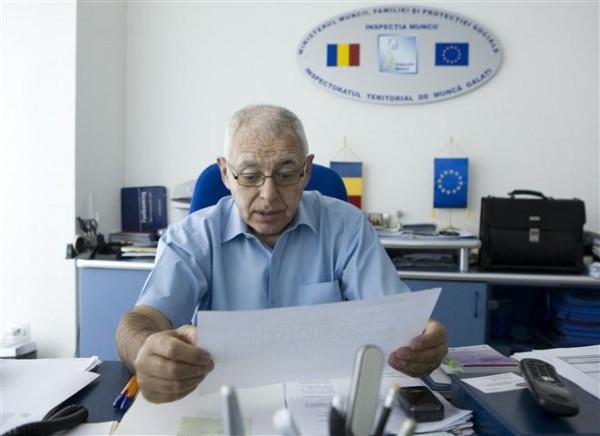 Şeful ITM Galaţi, Ionel Petrea