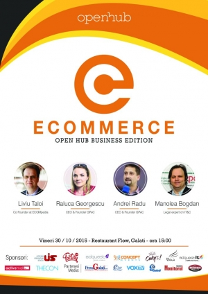 Ecommerce Hub – Business Edition, o sesiune Open Hub adresata zonei de business online