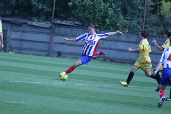 Golul calificării fetelor de la Oţelul, marcat direct din corner în prelungiri