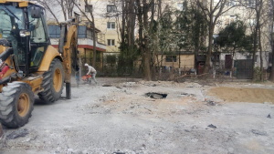 Garaje demolate în zona I.C. Frimu (VIDEO)